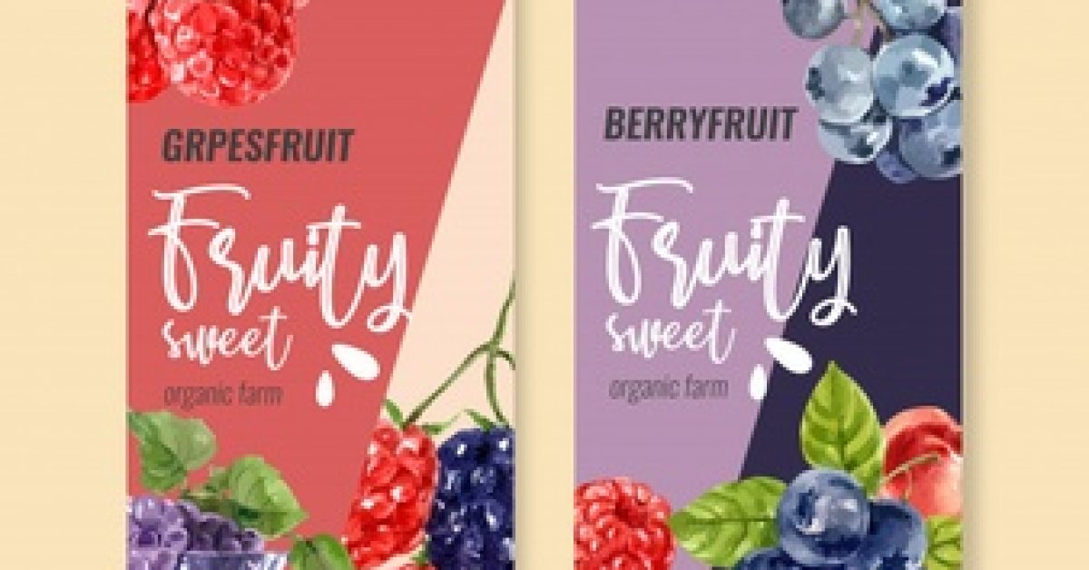 flyer-watercolor-with-fruits-theme-various-berries-illustration_83728-896