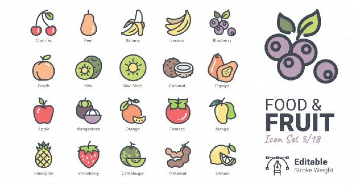 food-fruit-vector-icons_98505-13